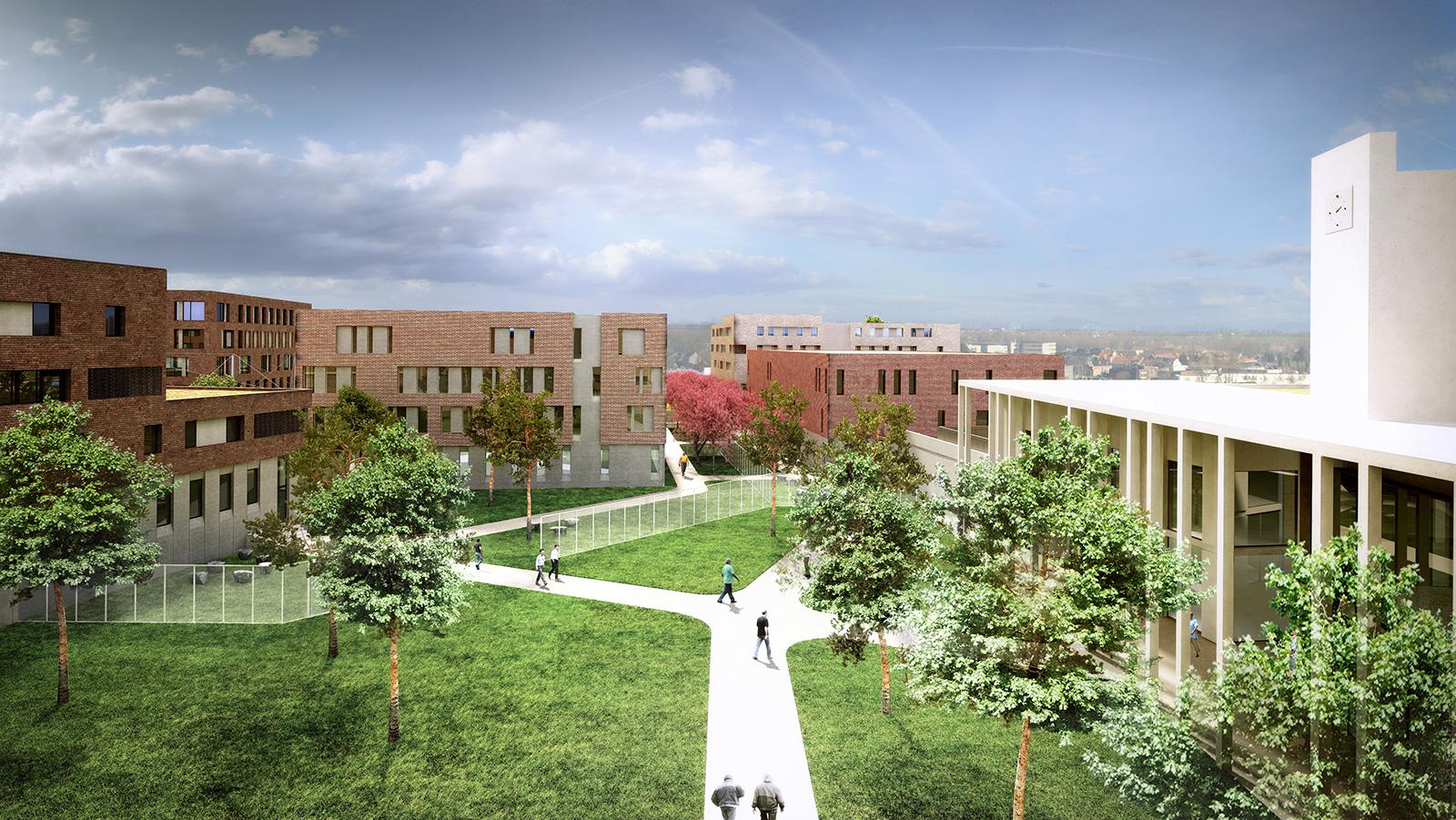 Nieuwe gevangenis in Haren