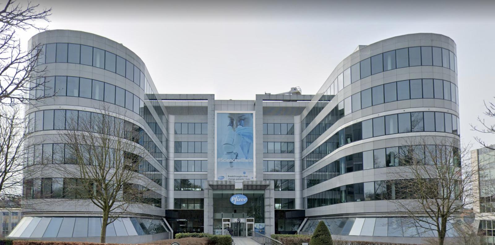 Pfizer Brussel REI Projects Brandwerende beplating
